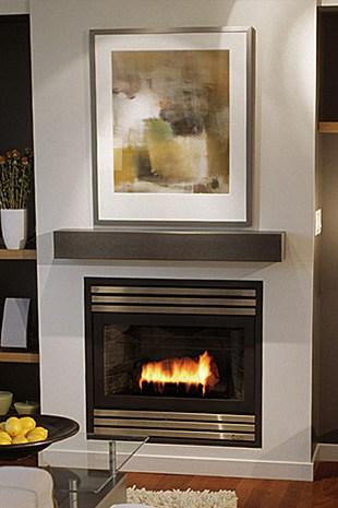 Solus Decor fireplace Judd mantel