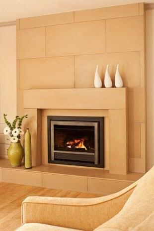 Solus Decor modern fireplace