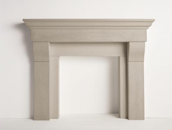 Solus cornice fireplace surround