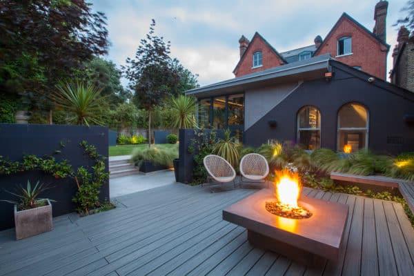 london architecture design interiors fire pit